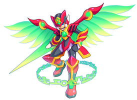 Commission: Zero and Dart Feld Fusion by ultimatemaverickx