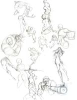 Poses by rogueXunited