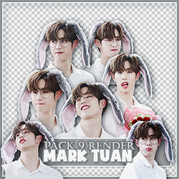 //03042017// Pack Render #133: Mark Tuan - GOT7 by BYjin-D