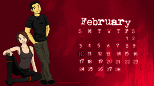 Walking Dead, February Desktop by krisramie