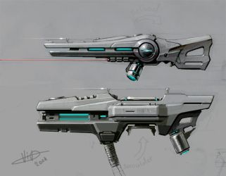 HB weapon concepts. by vlda