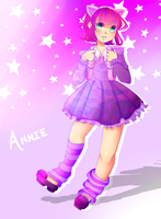 League of Legends - Annie - SPEEDPAINT by Yukella