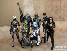 Mass Effect - Welcome to the Normandy by sumyuna