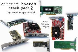 Circuit Boards Pack 2 by archetype-stock