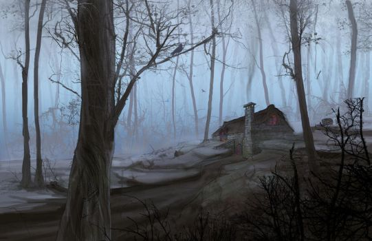 The Cottage II by EranFowler