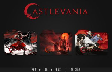 Castlevania Folder Icon by Eanzito