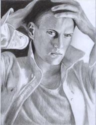 Wentworth Miller by D17rulez