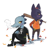 Mae and Bea NITW by Beezii11