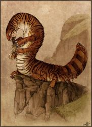 Siberian Tigerpede by GuthrieArtwork