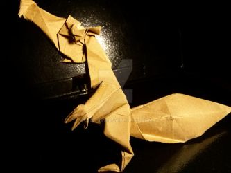 Origami Prehistoric Squirrel by OldCook