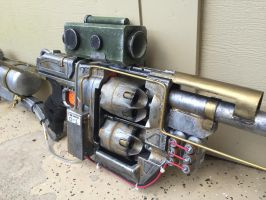 Fallout 4 Inspired Rifle - Right Detail by jonyman123