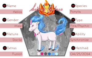 PKMNation - Helios Reference Sheet by maybarros
