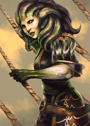 Vraska by Pantalewns
