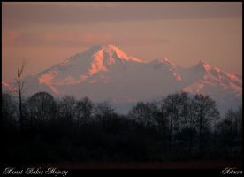 Mt. Baker Sunset by Adaera