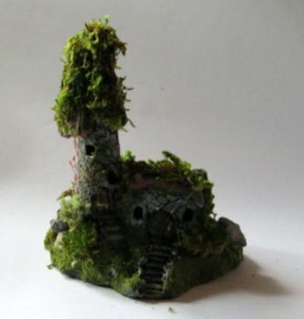 Old Irish Fairy Castle Miniature by fantasyrealmstudio