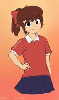 TLH: Lynn's New Look by Virtuous-Bunny