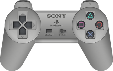 Sony PlayStation Controller by BLUEamnesiac
