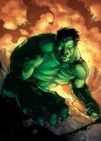 Hulk (color version) by abc142