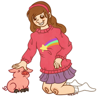Mabel by jellykiwi