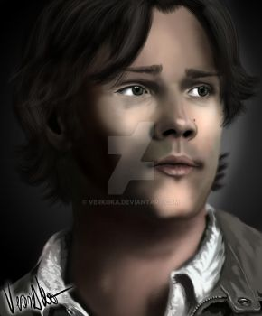 Jared Padalecki by verkoka