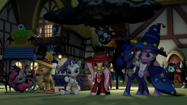 A Late Nightmare Night by Erodian
