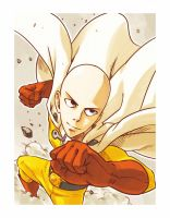 Caped Baldy fan art V2. by timfischerkbts