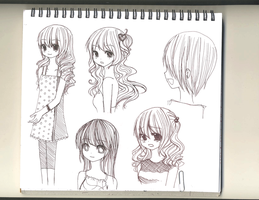 SOY'B sample sketches by mushomusho