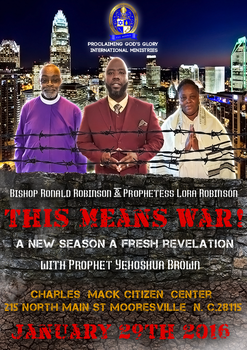 Proclaiming God's Glory - This Means War! by EthericDezigns