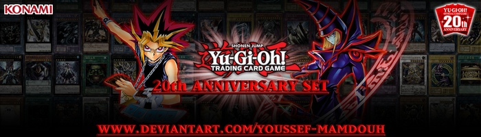 TCG 20th ANNIVERSARY SET Banner by Youssef-Mamdouh
