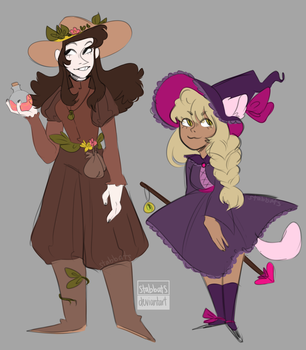 [custom] Two Witches! by stabbats