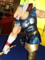 Beta Ray Bill statue by force2reckon