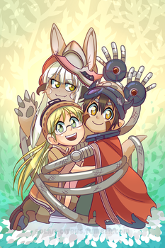 Made In Abyss by SOLAR-CiTRUS