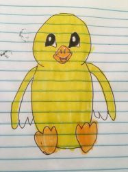 webkinz lil kinz canary drawing by lpscat123