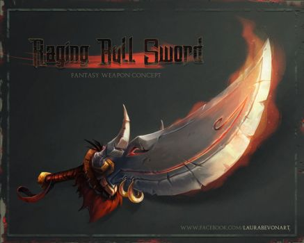 Raging Bull Sword by LauraBevon