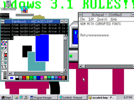 Windows 3.1 Eng/Jap With Miner Bg's Dev. Day #2 by TheMiningBoyAlpha
