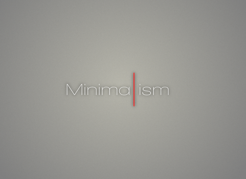 Minimalism Wallpaper by Kabeer