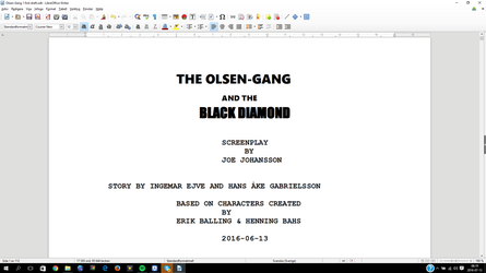 The Olsen-Gang  First Draft by n64ization