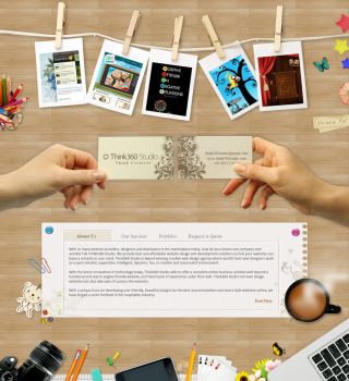 www.Think360Studio.com - A Web Design Agency India by princepal