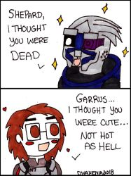 ME2: Thought You Were Dead by DivaXenia