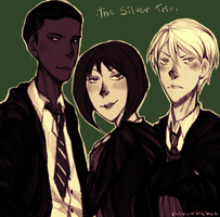 HP: The Silver Trio by cannorachan