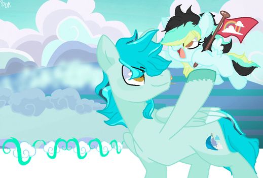 Reaching up for the highestt! by brightiloveyheartz
