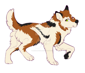 [open adopt] pupper 3 by Asenagowild