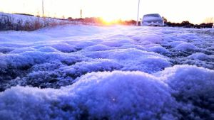Sun Up in the Snow by SublimeBudd