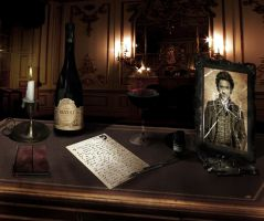 The Office of Professor Moriarty by NightMagican