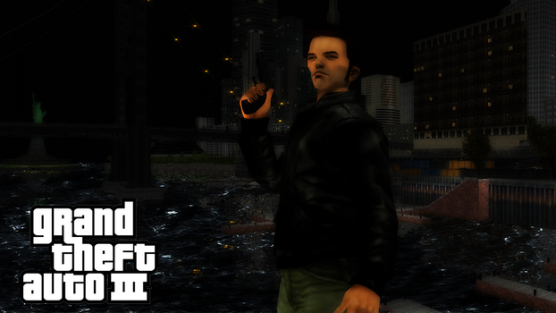 GTA 3 Claude Speed Wallpaper by ShadowGlobe