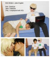Dirk x Jake - cosplayer: me only XD by ChibiEdo