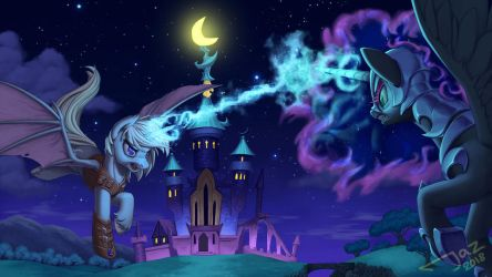 Battle of the Night by 1Jaz
