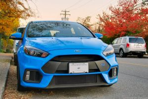 Sunset Focus RS by SeanTheCarSpotter