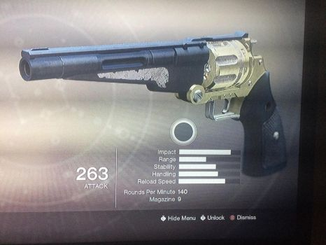 Lucy's Hand cannon  by halolocke