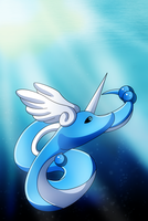 Dragonair by pokemastersan